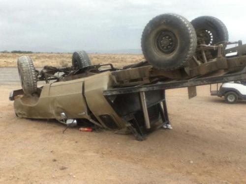 Wrecked truck (2)